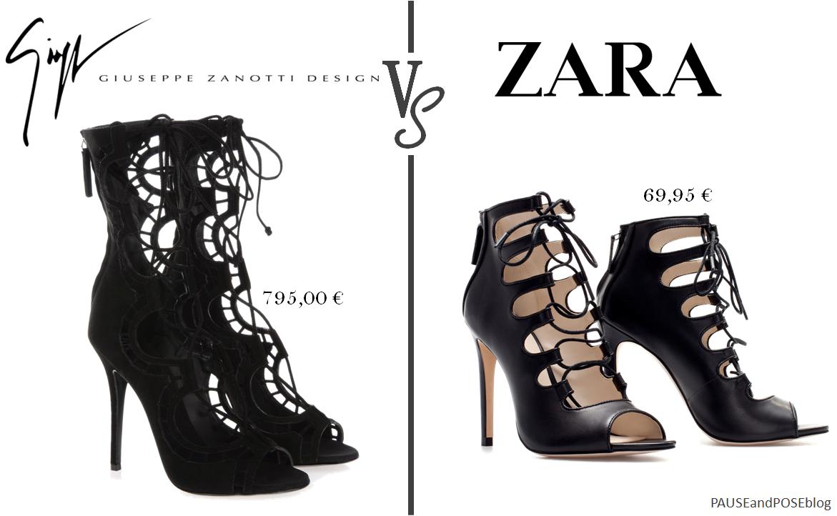 Zara Zara Frange Noir sandales Chaussure Talon 45jcqAR3LS